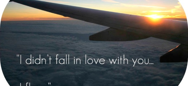 My Favorite QuotesLines On UGLY LOVE The Coffeeholic Bookworm Gorgeous Flight Quotes